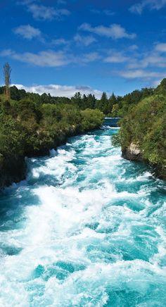 NZ - Taupo - Huka Falls