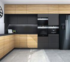 Kitchen Dining, Kitchen Cabinets, Küchen Design, Modern Decor, House Plans, Sweet Home, New Homes, Kitchens, Interiors