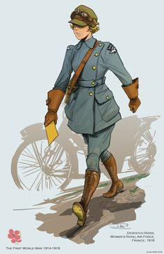 Character Concept, Character Art, Ww1 Art, Ww1 Soldiers, Military Drawings, Female Soldier, World War One, Character Design References, Panzer