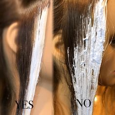 """Balayage Basics Part II It doesn't matter weather you use """"V's"""", slants /, full panels or singles as long as you know what each one will… Hair Cutting Techniques, Hair Color Techniques, Hair Color Placement, Bilage Hair, Diy Ombre Hair, Balayage Technique, Haircut And Color, Hair Painting, Hair Highlights"""