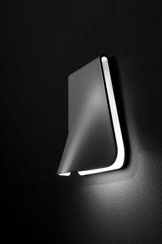 *lighting design, wall lighting, minimalism, product- industrial design* - 'Plec' by Guimeraicinca for Estiluz S.A.
