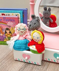 Ravelry: Red Riding Hood Toys pattern by Michele Wilcox