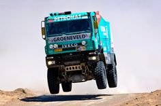 Iveco Powerstar on Paris Dakar Rally