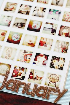 love this idea for a scrapbook