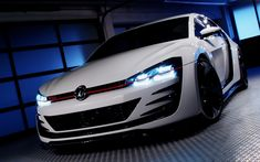 Der VW Golf Design Vision GTI 2013 – ein Rennwagen der Superlative