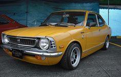 1974 Toyota Corolla Sprinter #cars #coches #carros