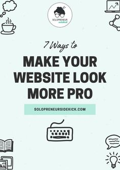 Website Design Tips - Just because you're designing your own website, doesn't mean it can't look professional! Here's a few tips that will put your site above the rest. Learn how to easily build your own website with Squarespace. Design Your Own Website, Build Your Own Website, Making Your Own Website, Website Design Inspiration, Business Website, Online Business, Business Tips, Craft Business, Business Branding