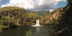 Cachoeira do Caldeirão - Baependi   Araucária Ecoturismo