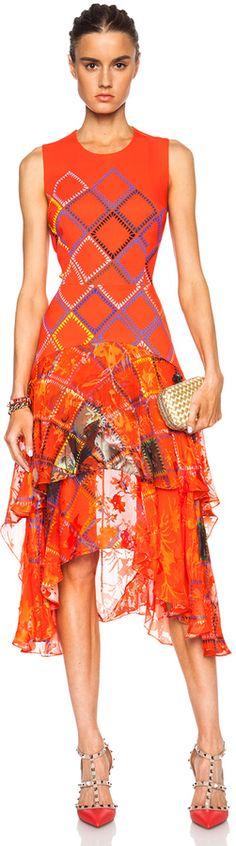 Preen by Thornton Bregazzi Payne Silk Dress