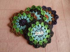 Crochet coasters,tea coasters,coffe coasters,drink coasters,doilies,set of four