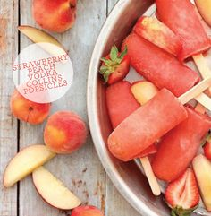 lots of neat popsicle recipes - including some spiked ones :)