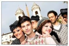 Nicolò Noto and the company of Amarcord