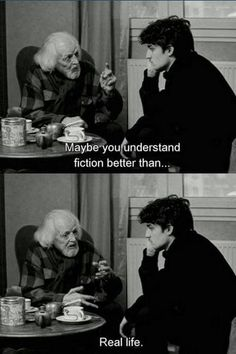 """Maybe you understand fiction better than real life."" -- La Jalousie, Philippe Garrel Yes I do! Movie Lines, Lectures, Film Quotes, Pretty Words, Quote Aesthetic, Jealousy, Mood Quotes, Quotations, Real Life"