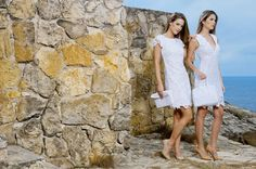 Spring Collection - Vestidos Blancos de Encaje - Lacey White Dresses Color Wear