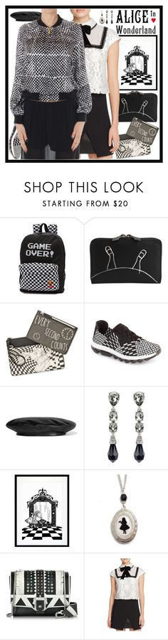 This Polyvore stylist adds black-and-white gaming cred to this outfit with the Victoria.