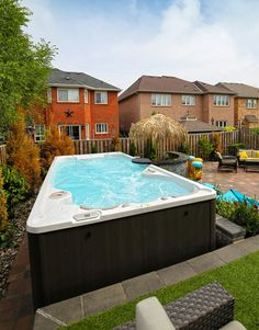 Jacuzzi Pool Decks Rooftop Patio Backyard Small Pools Spas Houses Endless