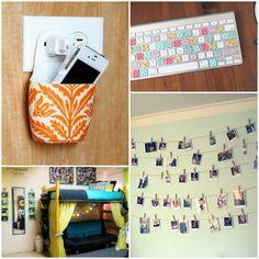 dorm room decor and organization ideas