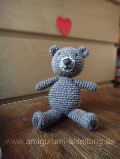 Teddy häkeln für Neugeborene
