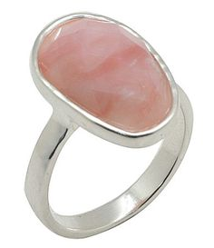 Calvary Sterling Silver and Opal Ring