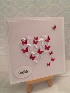 Memory Box Butterfly Heart Card www.facebook.com/DHMCards