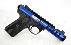 "Ruger 22/45 Lite Blue Anodized .22 LR 4.4"" [New in Box] $419.99 