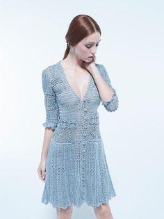 Uma nova fase pra Vanessa Montoro, que é bem conhecida por seu trabalho com crochê!... Mais