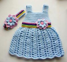 Baby girl crochet.. love it ☺