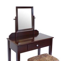 SEM210 - Set maro mobilier - transport gratuit in România - http://www.emobili.ro/cumpara/em210-masa-maro-toaleta-cosmetica-machiaj-cu-oglinda-masuta-vanity-cu-1040 #eMobili