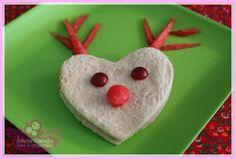 Comida Divertida de Natal sanduíhe de rena / Christmas Sandwiches @Chris Ferreira
