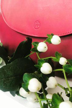 Little Sis, Rind, Card Case, Wallet, Cards, Raspberries, Handmade, Handbags, Leather