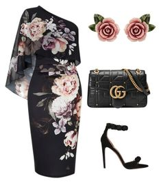 """Untitled #801"" by mchlap on Polyvore featuring Lipsy, Alaïa, Gucci and Dolce&Gabbana"