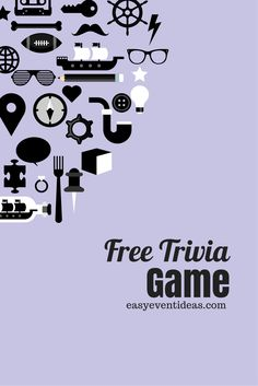 Want something fun to do at your next party? Or for all of the RA's that read this blog which according to my statistics is a lot, your next floor event! Why not turn it into a trivia night! Tips ...