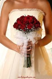 kırmızı gül gelin çiçeği ile ilgili görsel sonucu