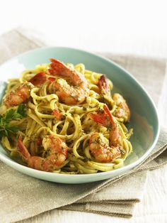 Shrimp cooks fast, making it a perfect choice for busy parents. These shrimp recipes include shrimp pasta, jambalaya, shrimp stuffed potato, and more.