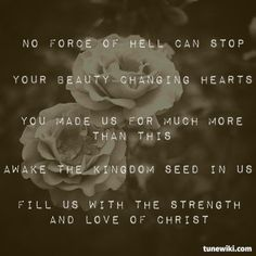 """-- #LyricArt for """"Build Your Kingdom Here (Live)"""" by Rend Collective Experiment"""