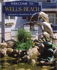 Maine Vacation Resort Rental, Maine Coast Travel, Lafayette's Oceanfront Resort, Wells Beach ME