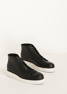 Totokaelo - Rachel Comey Black Rhodes High Top Sneaker