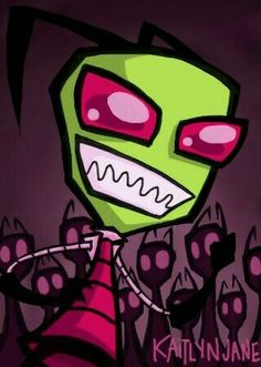 DeviantArt is the world's largest online social community for artists and art enthusiasts, allowing people to connect through the creation and sharing of art. Johnny The Homicidal Maniac, Invader Zim Characters, Strong Character, Robot Arm, Cartoon Movies, Kids Shows, Anime Art, Cartoons, Nerd