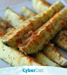 Stick de Abobrinha no almoço!  Corte a abobrinha em palito, salpique queijo parmesão, jogue um fio de azeite, um pouquinho de sal e pimenta a gosto!. Leve ao forno e pronto, só servir (: