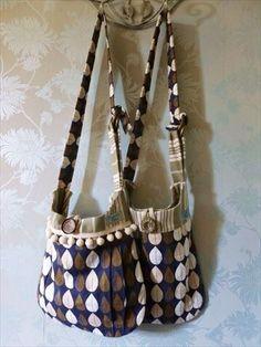 Beautiful Orla kiely inspired retro bags