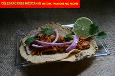 RECIPES: Tacos de Chochinita Pibil with Pickled Onions and Habenero Chiles, recipes in the chapter on Carnival in Mexico from the book, available for pre-ordering now at http://www.amazon.com/Celebraciones-Mexicanas-Traditions-AltaMira-Gastronomy/dp/0759122814