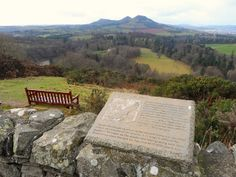 Scott's View near St Boswells in the Scottish Borders | Europe a la Carte Travel Blog