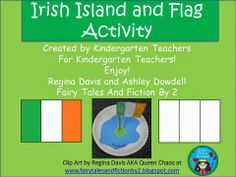Free:  Super Simple Irish Island Activity with Free Printables... Check out the blog for more Irish freebies for St. Patrick's Day!  Enjoy!  Regina Davis AKA Queen Chaos at www.fairytalesandfictionby2.blogspot.com
