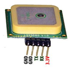 Picture of GEO-TAGGING DATA: THE LS20031 GPS RECEIVER