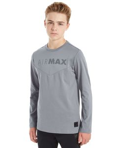 Nike Air Max Long Sleeve T-Shirt Junior - Shop online for Nike Air Max Long Sleeve T-Shirt Junior with JD Sports, the UK's leading sports fashion retailer.