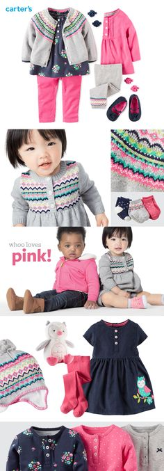 NEW little collections just arrived! We're loving Fair Isle sets for fall.