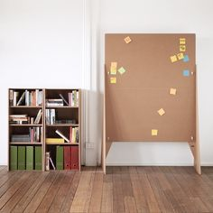 The Pinpoint room divider/bulletin board. Karton makes tons of awesome cardboard furniture.