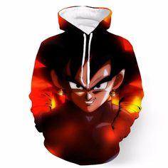 DBZ Black Goku Danger Fire Smile Potala Fusion Cool Trendy Design Hoodie - Saiyan Stuff #DBZ #Black #Goku #Danger #Fire #Smile #Potala #Fusion #Cool #Trendy #Design #Hoodie