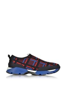 Marni+Variation+On+Marni's+Sneaker+In+Checkered+Fabric