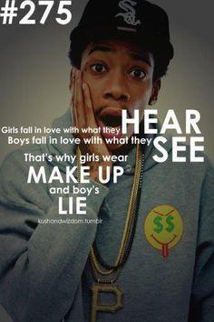 Wiz Khalifa you are a genius.